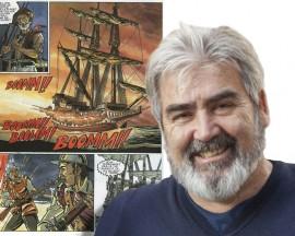 Presentación del cómic Justin Hiriart a cargo de sus creadores, Harriet y Fructuoso-Luis Michelena-12/11/2015-Donostia-San Sebastián